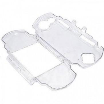 Capa protetora Case Acrílico Transparente Genérico para PSP 3000 3001 3010 Slim  - Pronta Entrega