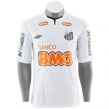 Camisa Santos Oficial Imp + Calção Short Umbro 2011 Frete Grátis
