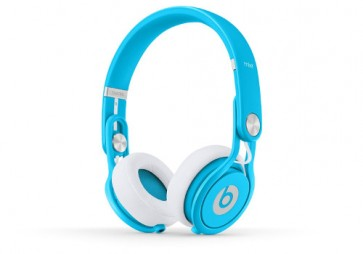 New Beats™ by Dr. Dre™ Mixr 2.0 David Guetta Neon Blue Limited Edition Headphones On ear