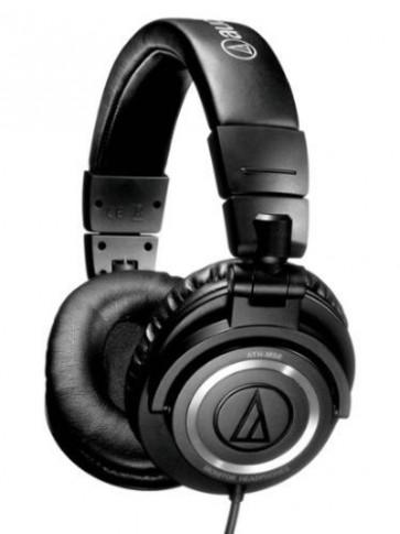 Fone Audio-Technica ATH-M50 Professional DJ Studio Monitor Headphones - Preto