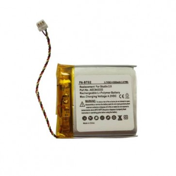 Bateria Substituição Replacement para fones de ouvido Beats Studio 2.0 - 3
