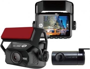HP F660G Câmera Dual Dash Frontal 1080P Traseira 720P Câmera de Ré