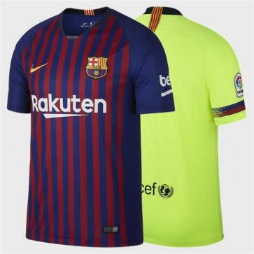 Camiseta Camisa Nike FC Barcelona 2018 2019 Futebol