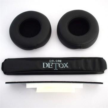 KIT Replacement Substituição Reparação Arco Headband Earpad Espuma para Beats Pro e Detox 8