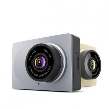 """Camera Veicular Carro Xiaomi Yi Smart DVR WiFi Ângulo 165 graus Dash Cam 1080P 60fps Tela 2.7"""" Mi - Versão Internacional"""