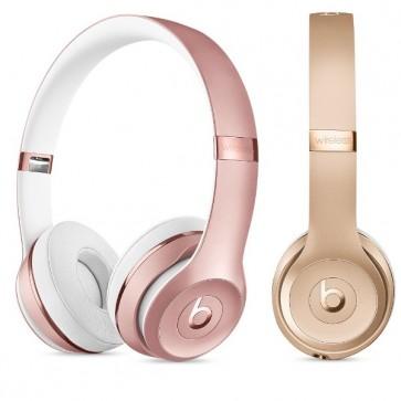 Solo3 Wireless Fones de Ouvido Headphones Ouro e Rosé 1