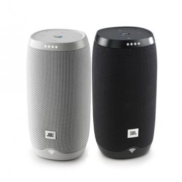 Caixa de Som Speaker JBL Link 10 Bluetooth Wi-Fi Controle Voz Google Assistant