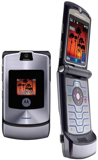 Motorola V3i Grey / Graffiti