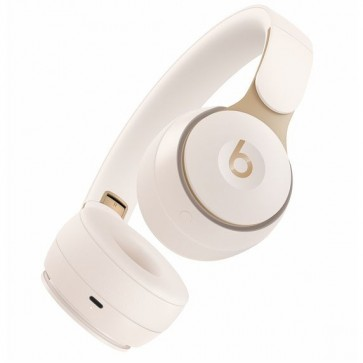 Beats Solo Pro On-Ear Wireless Headphones Siri - Branco