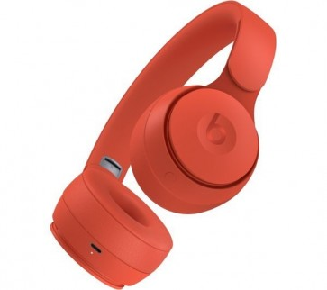 Beats Solo Pro On-Ear Wireless Headphones Siri - Vermelho