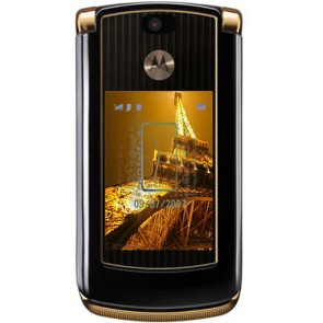 Motorola V8 RAZR2 Gold Luxury-2