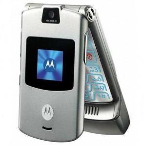 Motorola V3 Classic Silver
