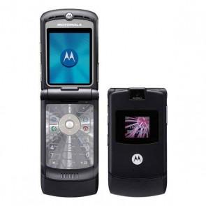 "Motorola V3 Classic Black - GSM Flip  2.2"" Tela LCD Quad-Band Java - Preto"