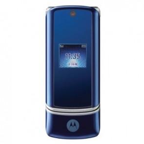 Motorola K1 Blue - GSM c/ Câmera 2.0MP c/ Zoom 8x, Filmadora, MP3 Player, Bluetooth Estéreo 2.0 - Azul