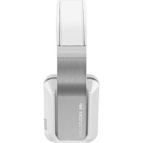 Monster Inspiration White Over-the-Ear Headphones Fones de Ouvido - Branco