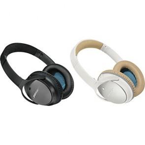 Bose - QuietComfort ® 25 QC25 Noise Cancelling ® headphones fones de ouvido Branco Preto