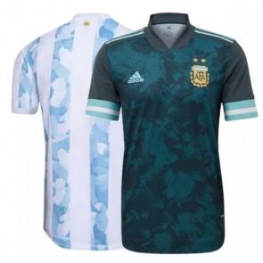 Camisa Adidas Argentina I e II 2020 2021 Torcedor Home Away Casa Visitante  - Destaque