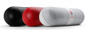 Beats by Dr. Dre Pill Wireless Bluetooth Speaker - Beats Audio™  - Cores: Preto Branco Vermelho - 8