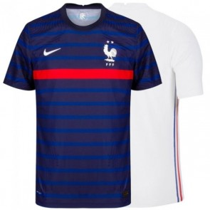Camisa Nike Seleção França Francesa 2020 2021 - Azul e Branco - Destaque