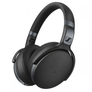 Fones de ouvido Sennheiser HD 4.40 Headphones Bluetooth Wireless com Dynamic Bass Preto