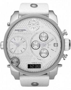 Relógio DIESEL DZ7194 Oversize White Branco Ghost XXL