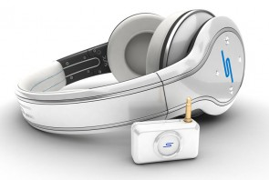 SMS Audio Sync by 50 Cent Wireless Bluetooth High Definition Headphones Fone - White