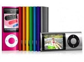 "Media Player MP3 MP4 8GB 5th Generation 2"" Camera Varias Cores estilo iPod Nano"